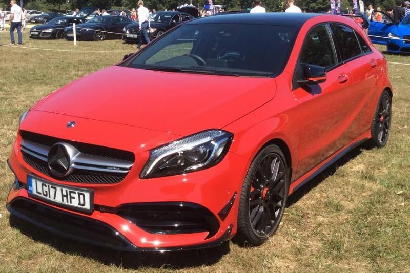 2017_Mercedes-Benz_A45_AMG_4Matic_Auto_(LG17_HFD)