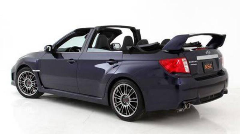 Subaru WRX STI Convertible