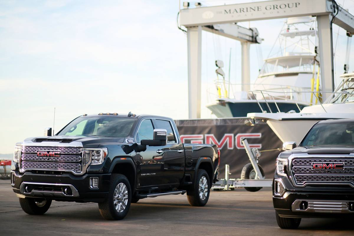 GMC Holds Vehicle Reveal Event