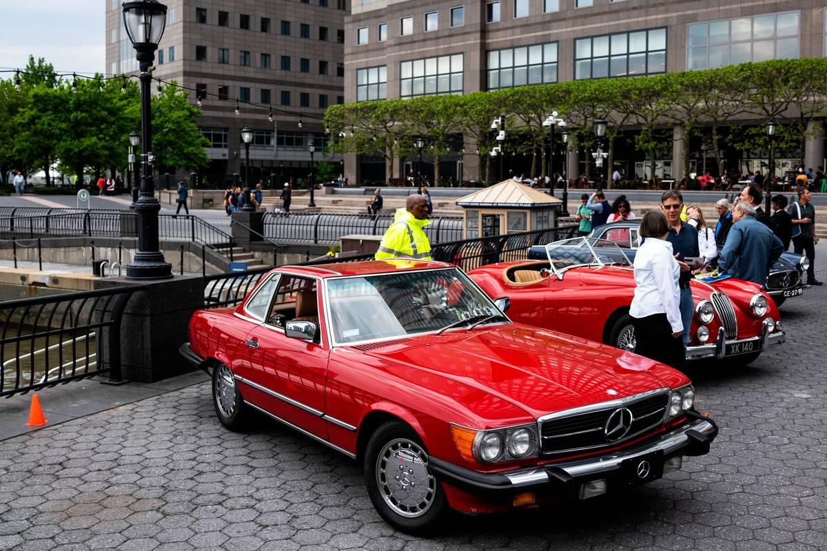Inside The Inaugural Manhattan Concours d'Elegance Classic Car Show