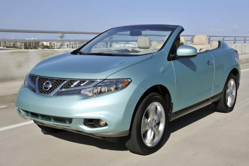 Nissan Murano CrossCabriolet Test Drive