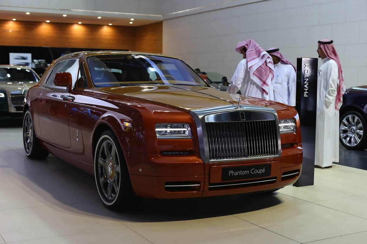 Opening Day Of Dubai Motor Show