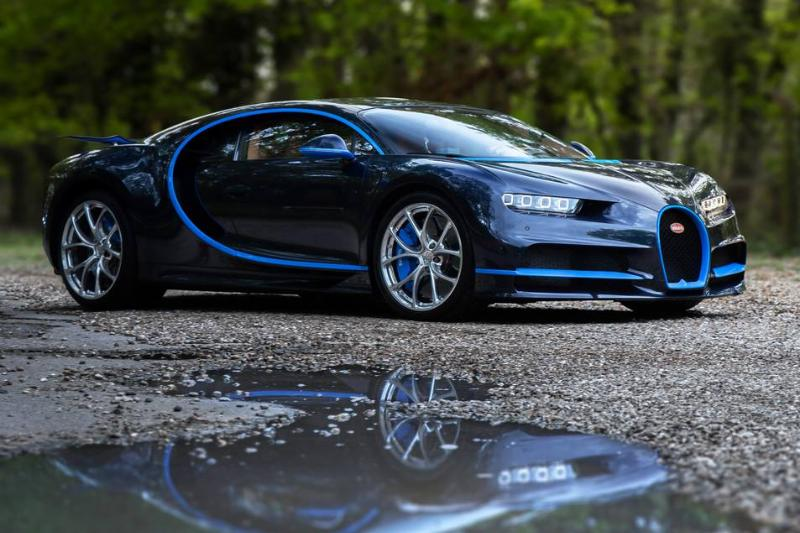 The Bugatti Chiron...