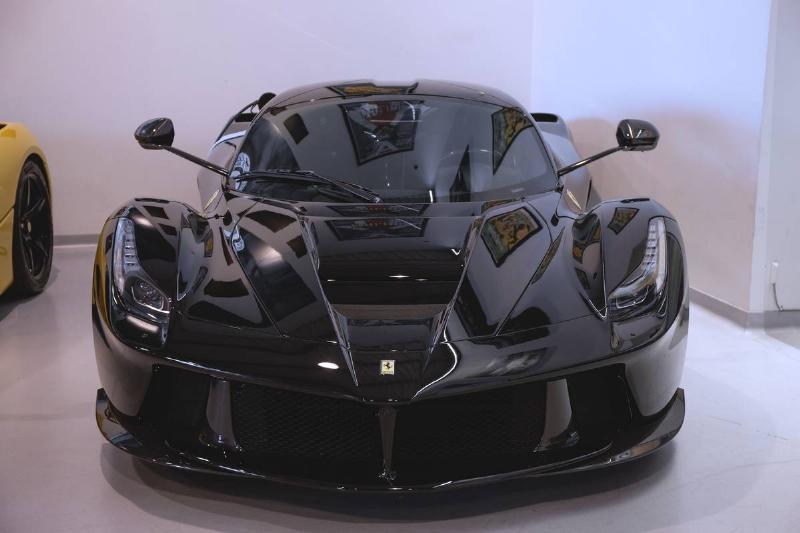 The Ferrari LaFerrari...