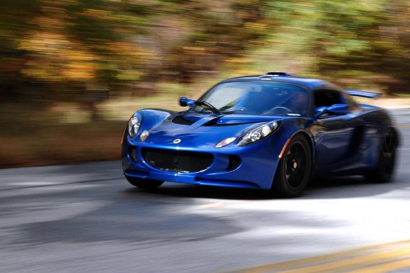 The Lotus Exige S is driven in Port Jervis, New York, U.S.,