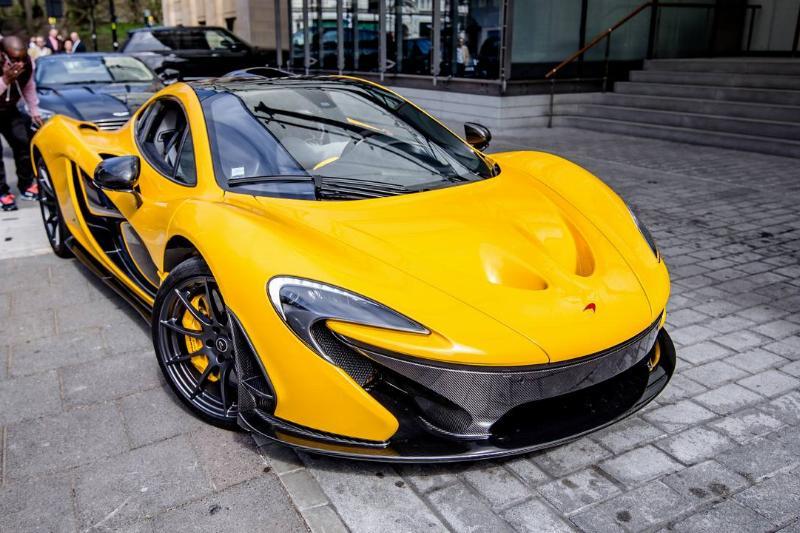 The McLaren P1...