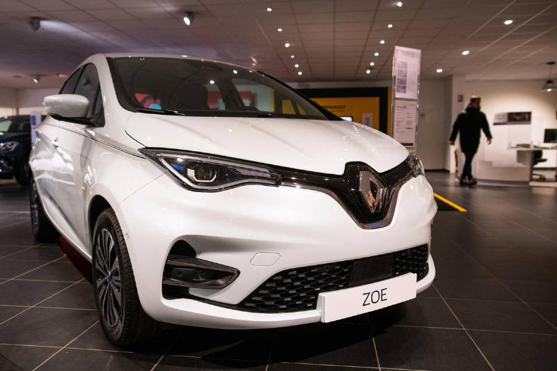 Renault SA Electric Automobile Showroom And City Charging Points