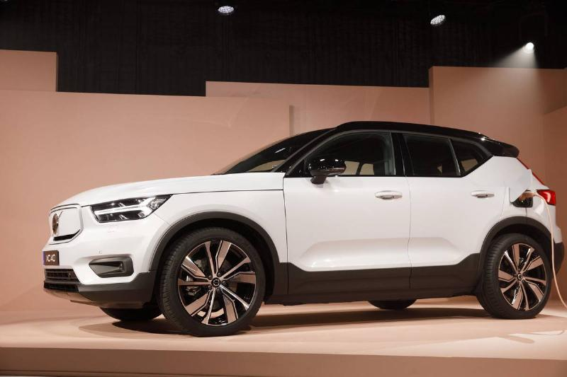 Volvo Unveils The First Electric XC40 Recharge SUV