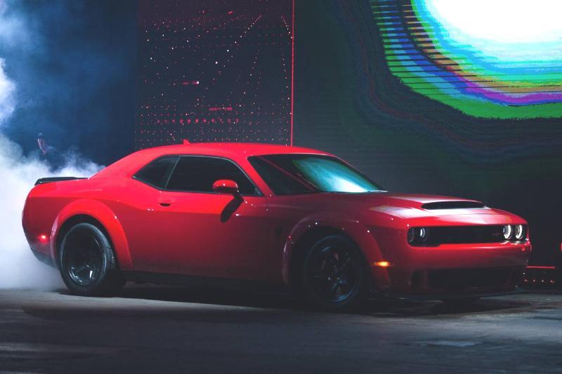 Fiat Chrysler Automobiles NV Dodge Demon Reveal Ahead Of The 2017 New York International Auto Show (NYIAS)