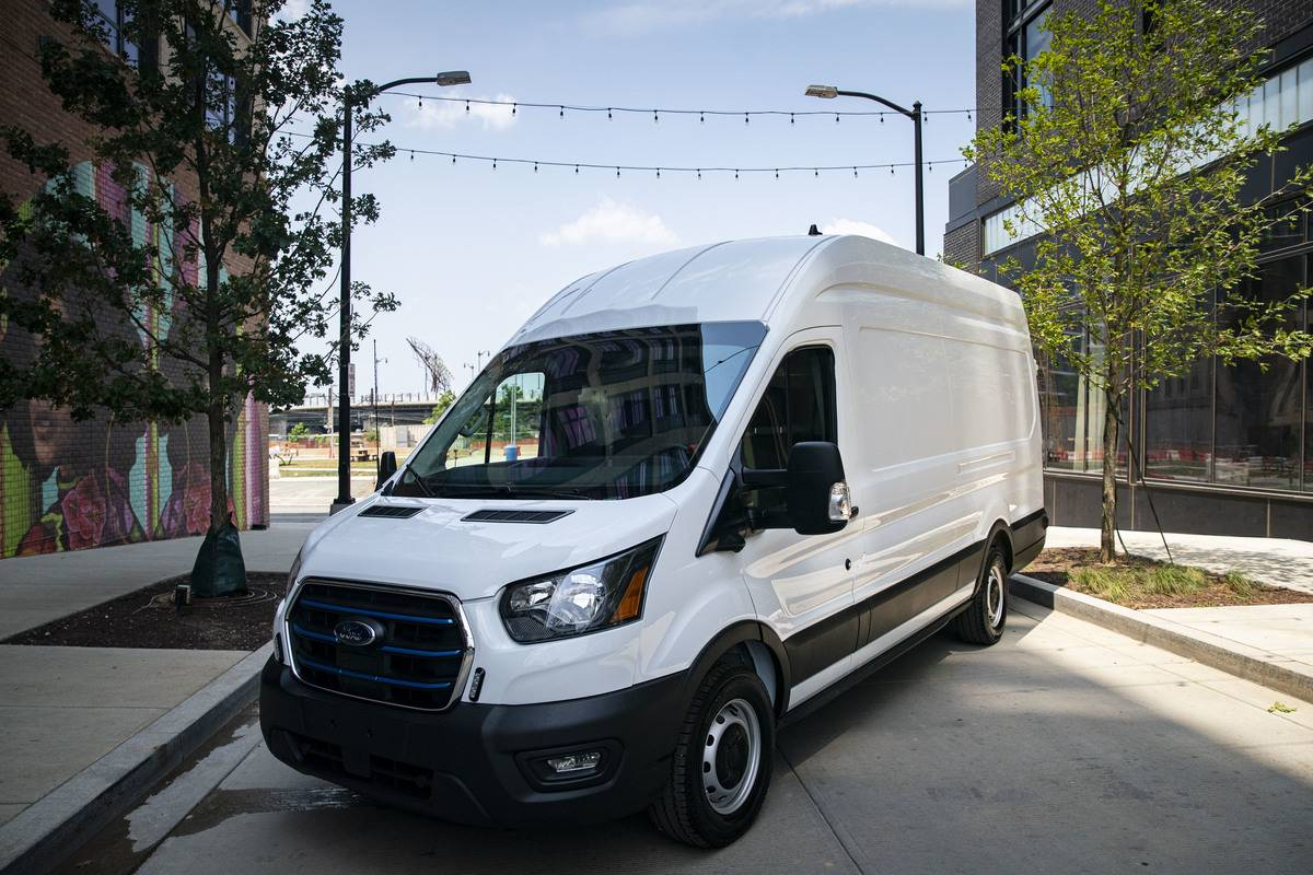 Ford Motor Showcases Newest All-Electric Vehicles