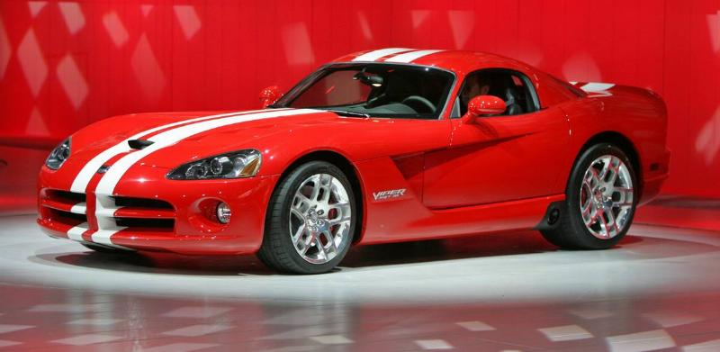 NAIAS 2007: 2008 Dodge Viper on the third press day of the North American International Auto Show Tu